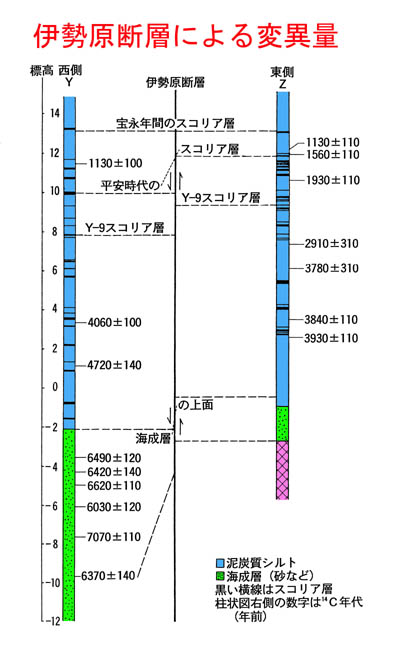 平塚市博物館平塚の活断層−伊勢原断層−