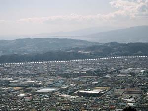 平塚市博物館秦野盆地を区切る渋沢断層と秦野断層